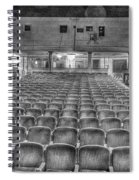 Senate Theatre Seating Detroit Mi Spiral Notebook