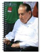 Senator Bob Dole Spiral Notebook