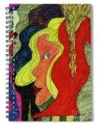 Send In The Clown Spiral Notebook