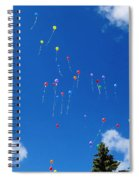 Sending Love Notes To Heaven Spiral Notebook