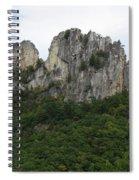 Seneca Rocks Wv Spiral Notebook