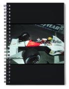 Senna Into 9 Spiral Notebook