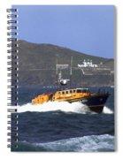 Sennen Cove Lifeboat Spiral Notebook