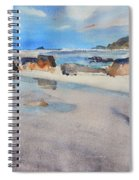 Sennen Cove Low Tide Spiral Notebook