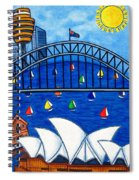 Sensational Sydney Spiral Notebook