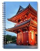 Sensoji Temple Spiral Notebook