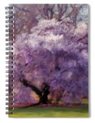 Sensual Secrets Where Passion Blooms Spiral Notebook