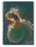 Sensually Dreamy Spiral Notebook