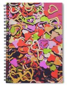 Sentimental Heart  Spiral Notebook