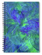 Sentimental Nature Abstract Spiral Notebook
