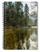 Sentinel Bridge And Half Dome In Morning Light Spiral Notebook