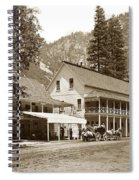 Sentinel Hotel And Ivy And River Cottages Circa 1895 Spiral Notebook