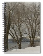 Sentinels In The Snow Spiral Notebook