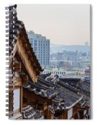 Seoul Korea Old And New Spiral Notebook