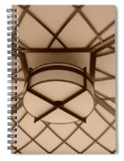 Sepia Lighted Box Spiral Notebook