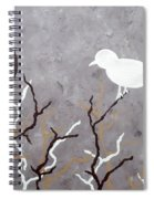 Sepia Simplicity Spiral Notebook
