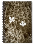 Sepia Souls Spiral Notebook