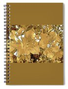 Sepia Toned Pink Bevy Of Beauties In Grayscale Too Spiral Notebook