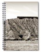 Sepia Tones Nature Landscape Nevada  Spiral Notebook