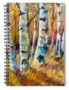 September Aspen Spiral Notebook