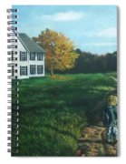 September Breeze Number 4 Spiral Notebook