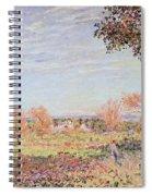 September Morning Spiral Notebook