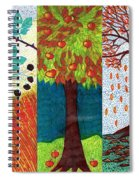 September October November Spiral Notebook