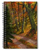 September Road Spiral Notebook