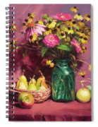 September Spiral Notebook
