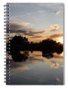 September Sunset In Prosser Spiral Notebook