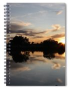 September Sunset In Prosser Spiral Notebook