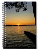 September Sunset Spiral Notebook