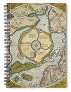 Septentrionalium Terrarum Descriptio Spiral Notebook