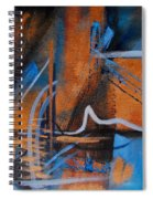 Sequence Of Events Spiral Notebook