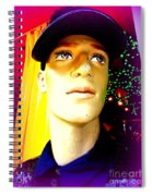 Sequin Sam Spiral Notebook