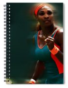 Serena Getting It Done Spiral Notebook