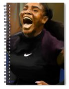 Serena Williams '16 Spiral Notebook