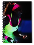 Serena Williams Triumpant Spiral Notebook