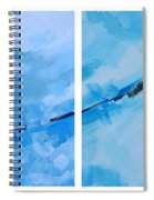 Entangled No.7 - Abstract Painting Spiral Notebook
