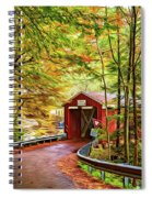 Serendipity - Painted 2 Spiral Notebook