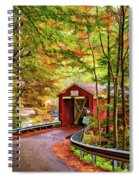 Serendipity Painted Spiral Notebook
