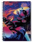 Serene Starry Night Spiral Notebook