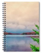 Serene Lake Harmony Spiral Notebook