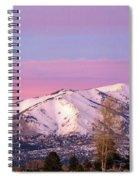 Serene Sunset Spiral Notebook
