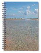 Serene Tidal Pool By The Sea Spiral Notebook