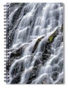 Serene Waterfall Spiral Notebook