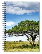 Serengeti Acacia Spiral Notebook