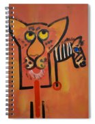 Serengeti Cat Spiral Notebook