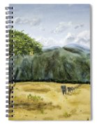 Serengeti Painting Spiral Notebook