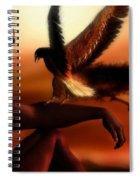Serengeti Sunset Spiral Notebook